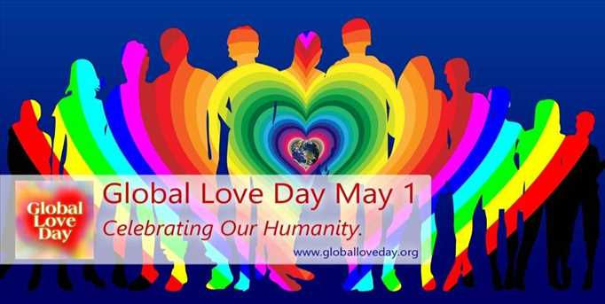 Global Love Day May 1, 2021