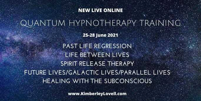 Quantum Hypnotherapy Training - Past Life | Life Between Lives | Spirit Release | Future Lives