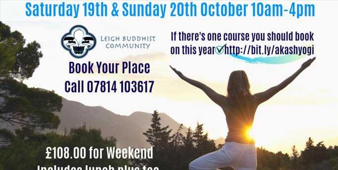 Akasha Yoga, Moving Meditation Prajna Akasagarbha - Leigh Buddhist Centre