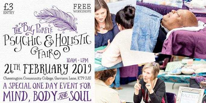 The Big Purple Psychic & Holistic Fair - Feb 24th