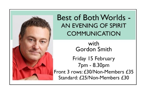 Best of Both Worlds: AN EVENING OF SPIRIT COMMUNICATION