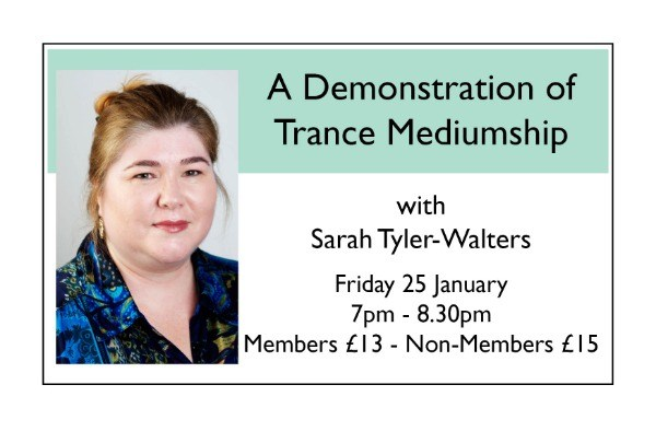 A Demonstration of Trance Mediumship