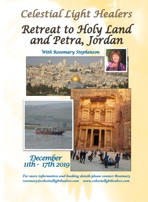 Retreat to Holy Land and Petra, Jordan