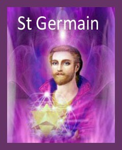 St Germain & the Violet Flame