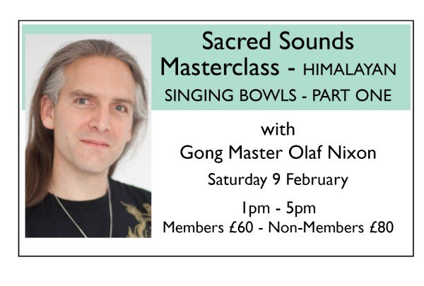 Sacred Sound Masterclass - HIMALAYAN SINGING BOWLS - PART ONE