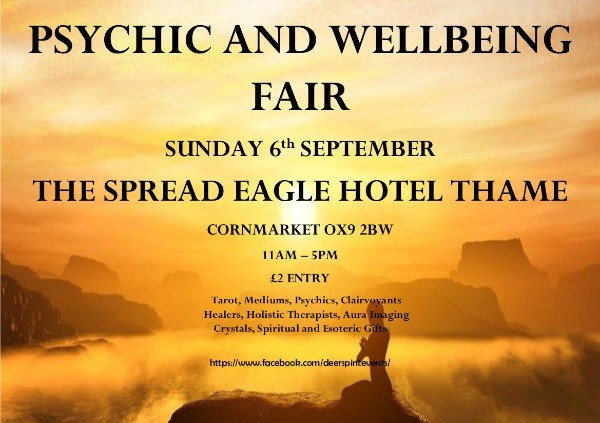 Thirdeye Psychic & Wellbeing Fair