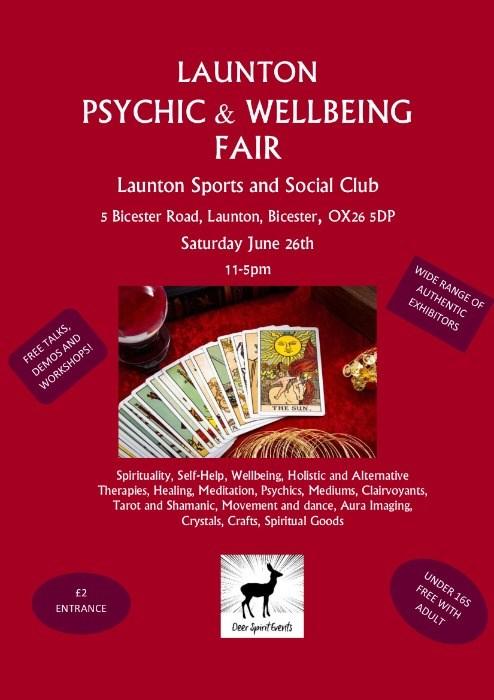 Launton Psychic & Wellbeing Fair