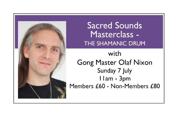 Sacred Sounds Masterclass - THE SHAMANIC DRUM