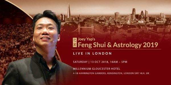 Joey Yap's Feng Shui & Astrology 2019 (London)