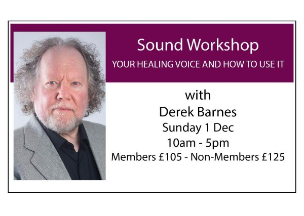 Sound Workshop - Your Healing Voice and How to Use it