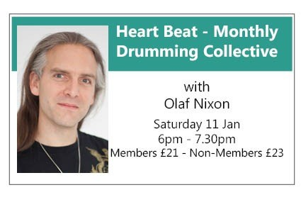 Heart Beat - MONTHLY DRUMMING COLLECTIVE