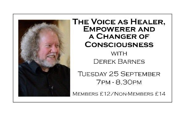The Voice as Healer, Empowerer and a Changer of Consciousness
