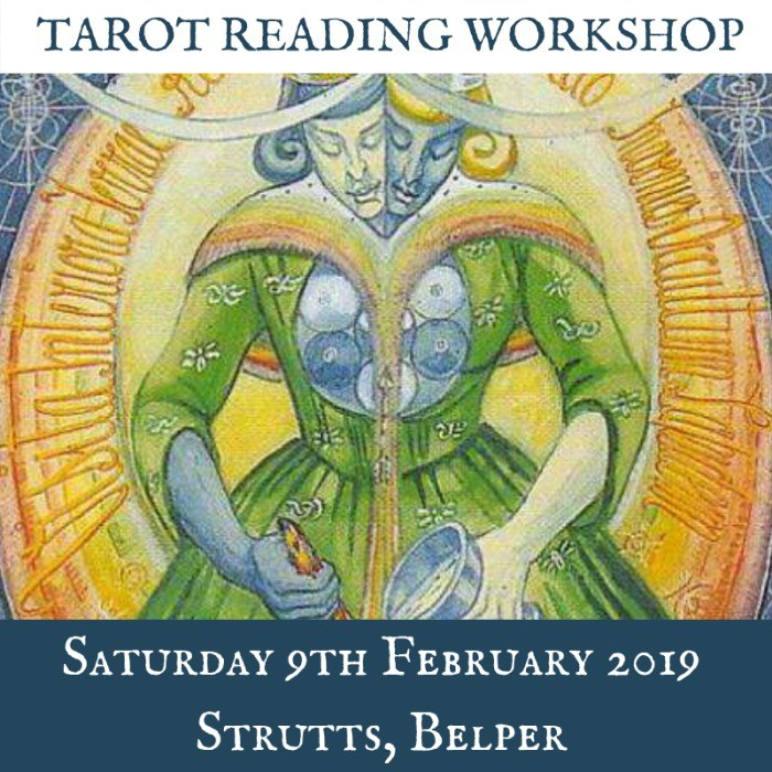 TAROT WORKSHOP  WITH DERBYSHIRE TAROT - All levels of experience