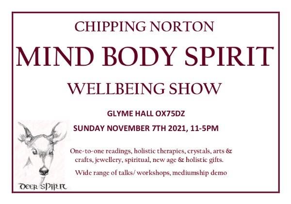 Chipping Norton Mind Body Spirit Wellbeing Show