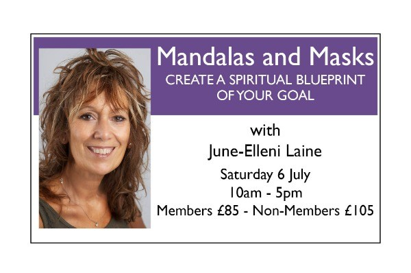 Mandalas and Masks - CREATE A SPIRITUAL BLUEPRINT OF YOUR GOAL