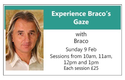 Experience Braco's Gaze SPECIAL SMALL INTIMATE SESSIONS