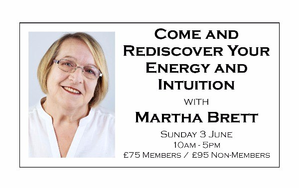 Come and Rediscover Your Energy and Intuition