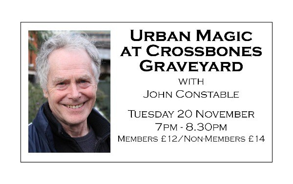 Urban Magic at Crossbones Graveyard