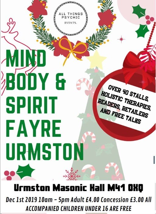 Christmas Mind Body and Spirit Fayre