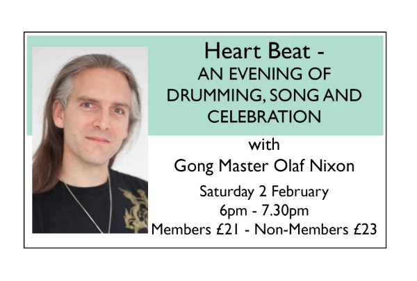 Heart Beat - AN EVENING OF DRUMMING, SONG AND CELEBRATION - Feb