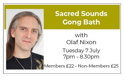 Sacred Sounds Gong Bath - July