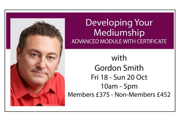 Developing Your Mediumship: Advanced Module with Certificate