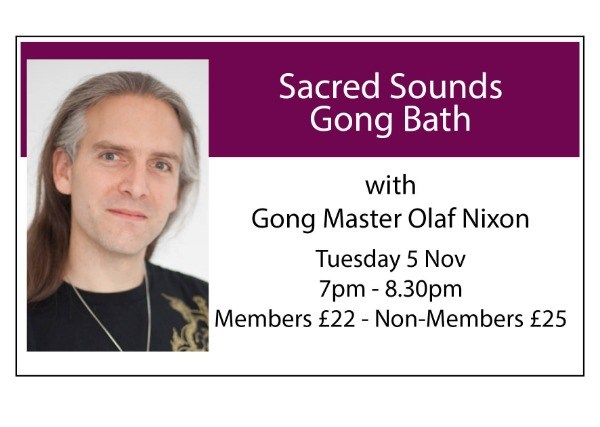 Sacred Sounds Gong Bath - November