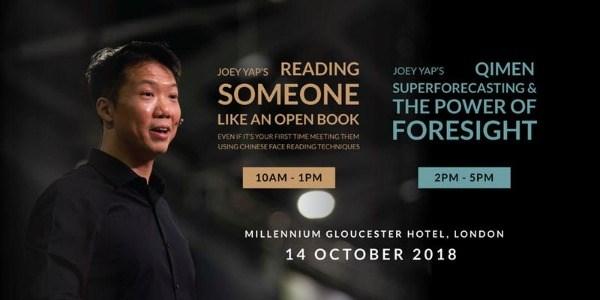 Joey Yap's Feng Shui & Astrology 2019 (London) Workshops