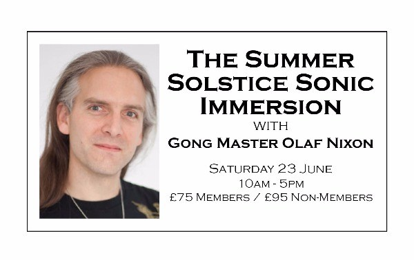 The Summer Solstice Sonic Immersion