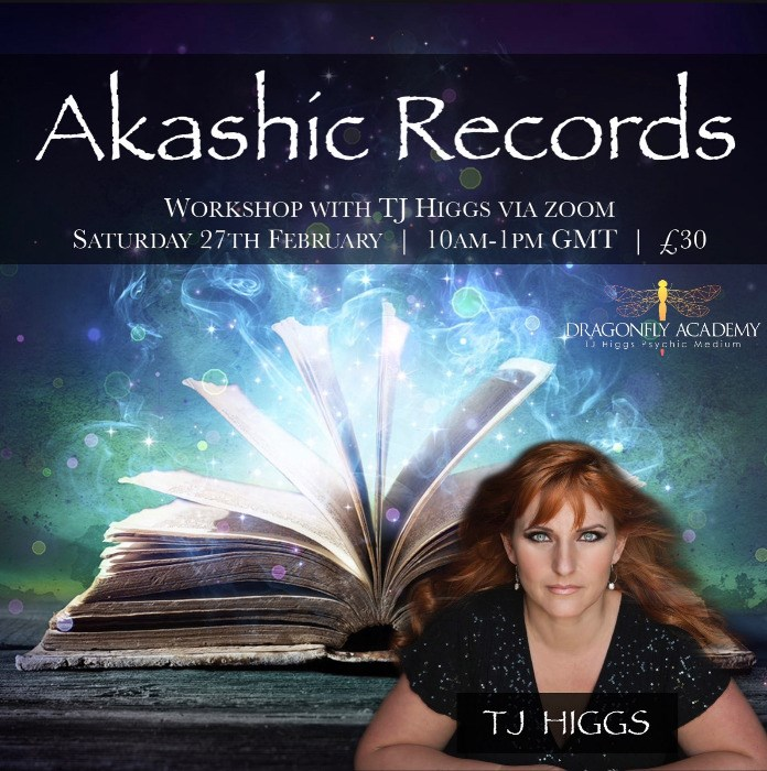Akashic Records Workshop -  Saturday 27th February 2021 - 10AM - 1PM UK Time - £30