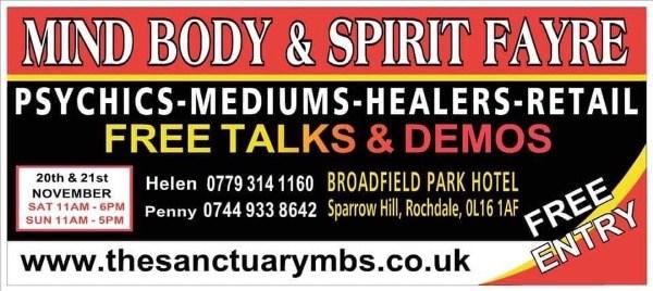 The Sanctuary MBS Mind Body Spirit Fayre