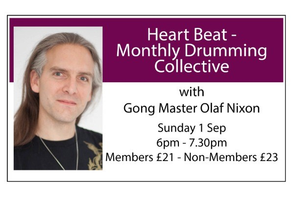 Heart Beat - Monthly Drumming Collective - September
