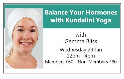 Balance Your Hormones with Kundalini Yoga - a workshop for women