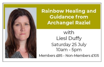 Rainbow Healing and Guidance with Archangel Raziel