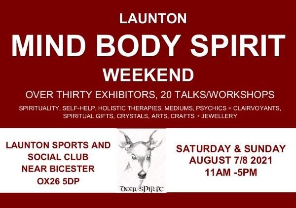 Launton Mind Body Spirit Weekend.