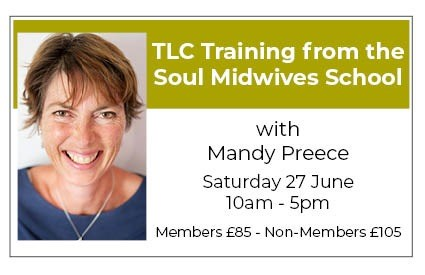 TLC Training from the Soul Midwives School: COMFORT, HOLISTIC SUPPORT AND REASSURANCE AT THE END OF LIFE
