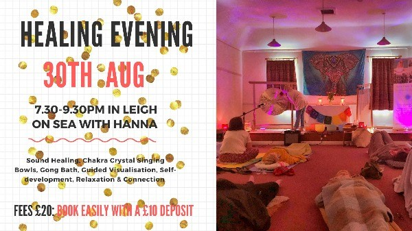 Healing Evening with Guided Visualisation, Sound & Gong