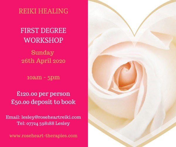 Reiki First Degree (Shoden)