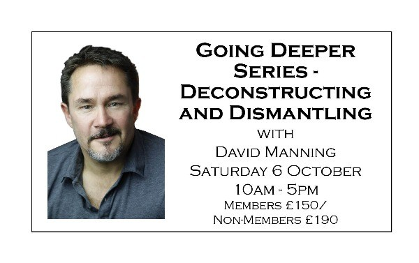 Going Deeper Series - Deconstructing and Dismantling