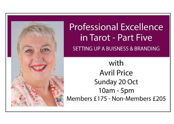 Professional Excellence in Tarot - Module Five: Setting Up a Business and Branding