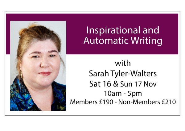Inspirational and Automatic Writing (2 days)