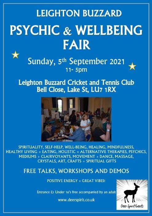 Leighton Buzzard Psychic & Wellbeing Fair
