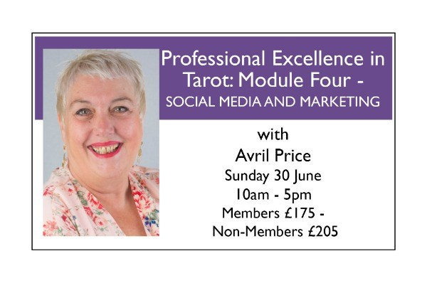 Professional Excellence in Tarot - Module Four: SOCIAL MEDIA AND MARKETING