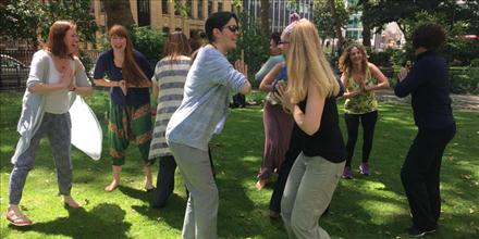 Laughter Yoga Leader Training with the Laughter Yoga Master Trainer, London