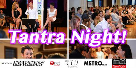 Tantra Night - Sensuality, Connection & Fun with your Clothes On!