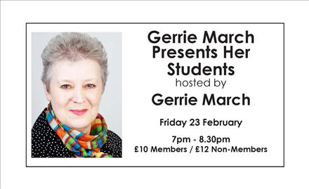 Gerrie March Presents Her Students