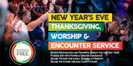 ENCOUNTER WITH GOD THRU THANKSGIVING AND WORSHIP EXPERIENCE