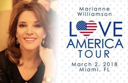 Marianne Williamson: Love America Tour