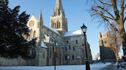 Caremark Christmas Carols and Cream Tea at Chichester Cathedral