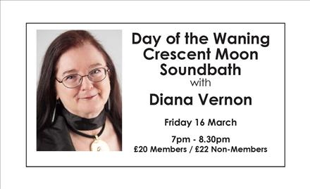 Day of the Waning Crescent Moon - Soundbath